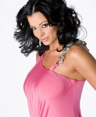 Candice Michelle پیپر وال possibly containing a maillot, a bustier, and a swimsuit کا, سومساٹ titled Cotton Candy - Candice Michelle