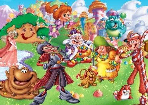Candy Land Characters - candy-land Photo