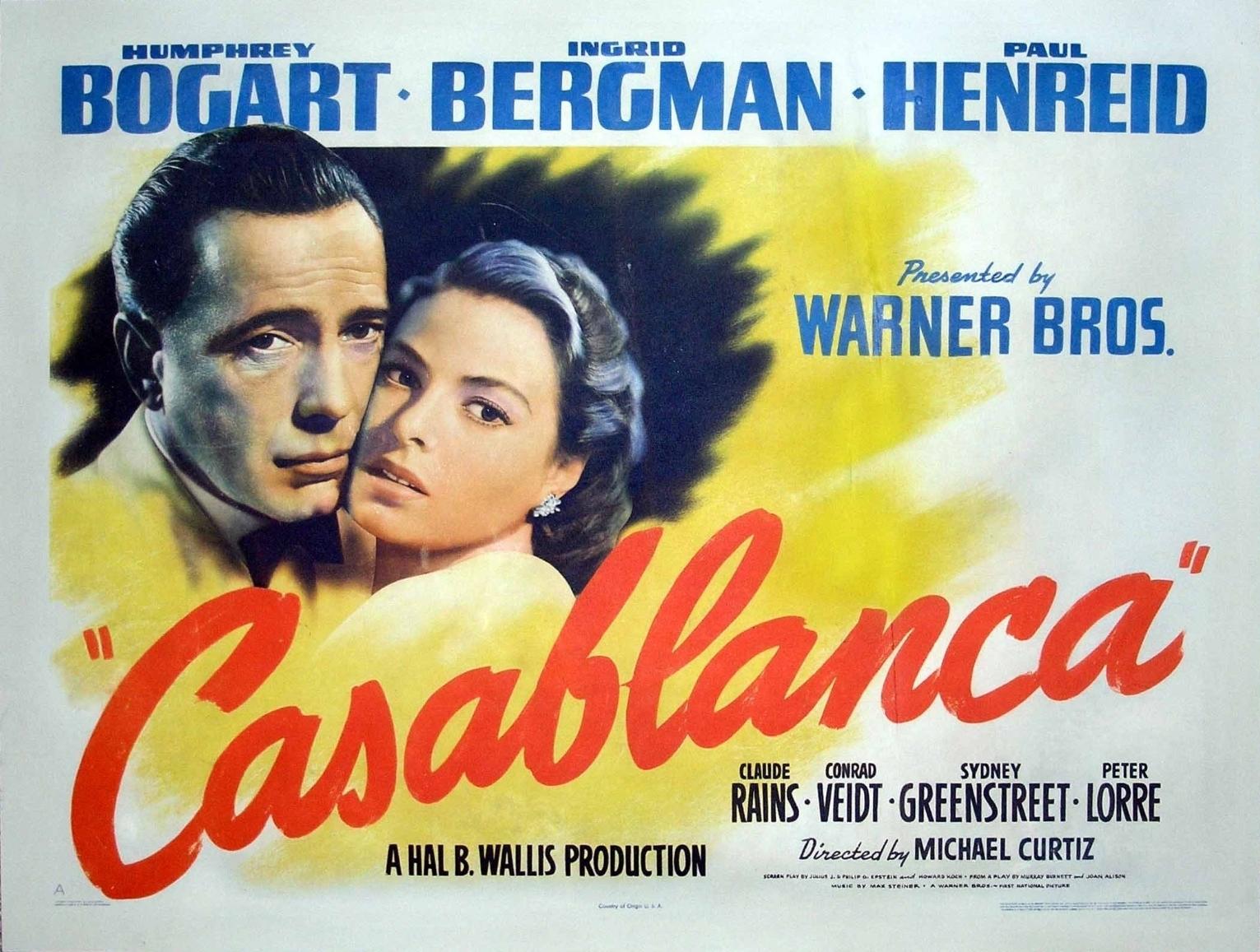 Casablanca casablanca photo 2985228 fanpop for Poster casablanca