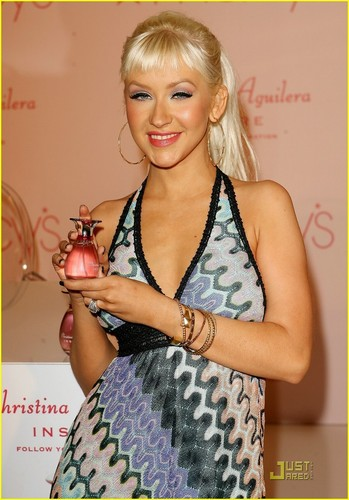 "Christina Launches her New Fragrance ""Inspire"""