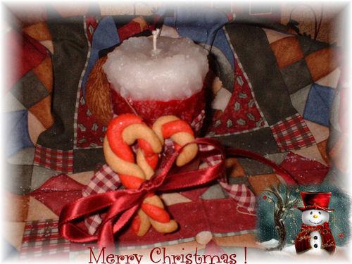 navidad Candle Pillar