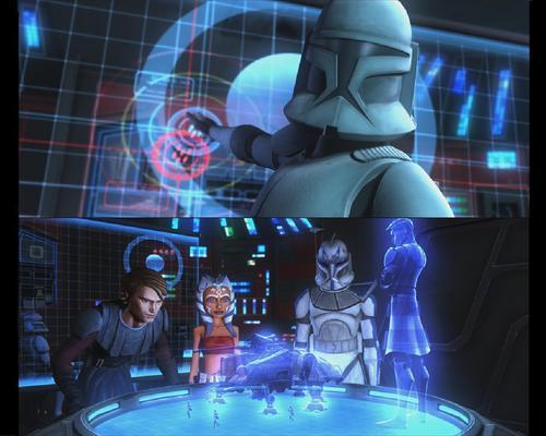 étoile, étoile, star Wars: Clone Wars fond d'écran titled Clone Wars