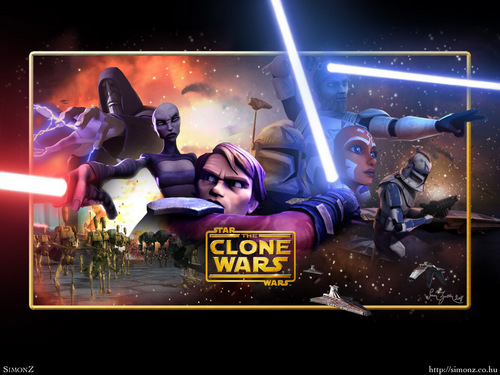 ster Wars: Clone Wars achtergrond probably containing anime entitled Clone Wars