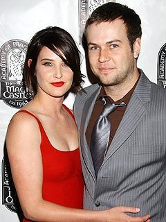 Cobie with her Baby dada - cobie-smulders Photo