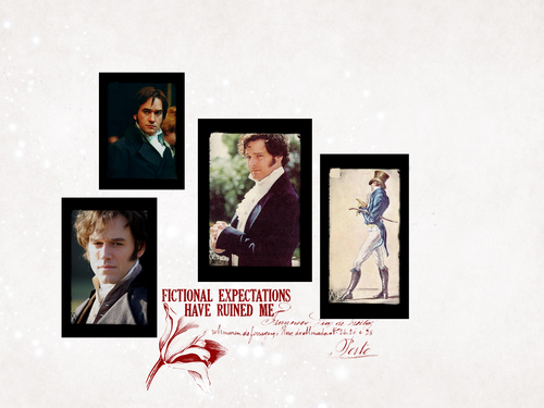 Darcy Through the Ages - pride-and-prejudice Wallpaper