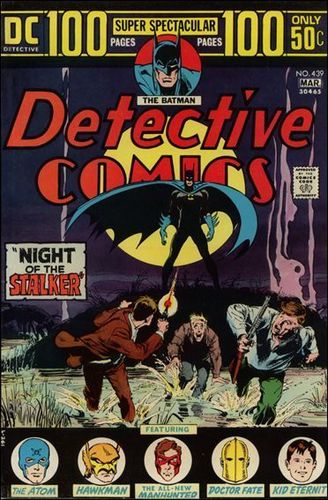 Detective Comic covers