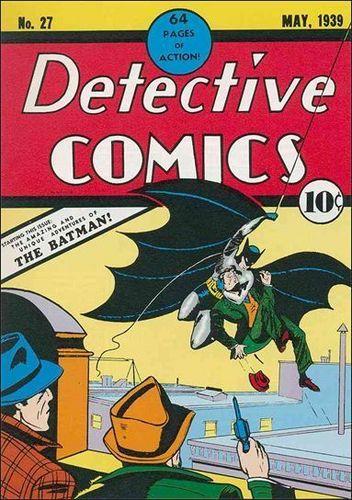 Detective Comic covers