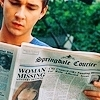 Disturbia fotografia with a newspaper entitled Disturbia