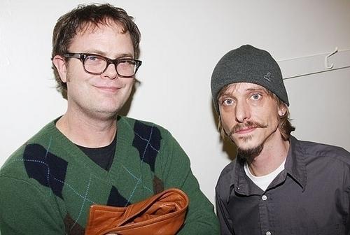 Dwight and Gareth