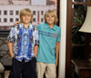 The Sprouse Brothers photo containing a bell entitled Dylan and Cole Sprouse