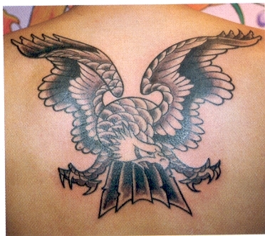 pictures of eagle tattoos