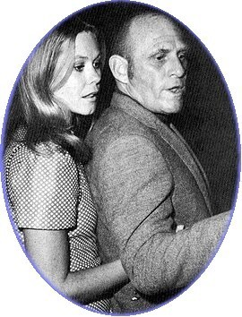 Elizabeth Montgomery wallpaper probably with skin entitled Elizabeth And Husband William Asher in 1971