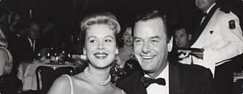 Elizabeth & Husband Gig Young
