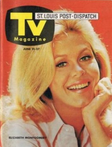 Elizabeth Montgomery TV Guide Cover