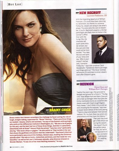 Emily Deschanel - Tv Guide