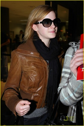 Emma at LAX airport
