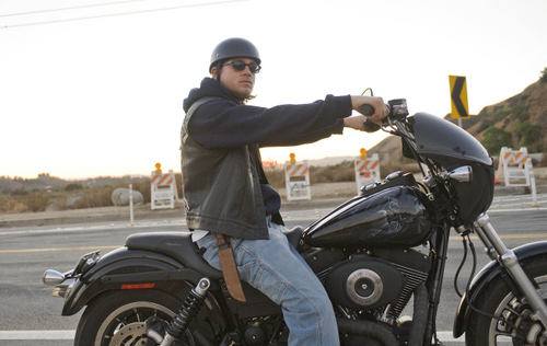 Sons Of Anarchy wallpaper containing a motorcycle cop called Jax Teller