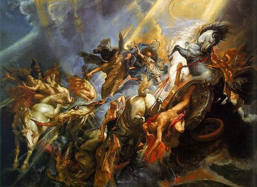 Fall of Phaëthon - greek-mythology Photo