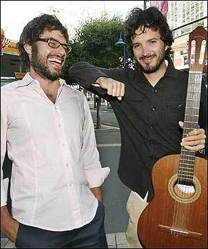 Flight of the Conchords fond d'écran titled Flight of the Conchords