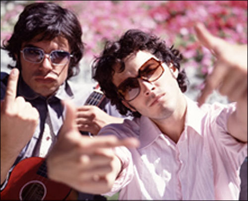 Flight of the Conchords wallpaper containing sunglasses titled Flight of the Conchords