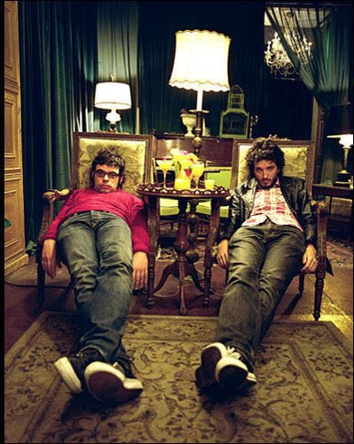 Flight of the Conchords wallpaper containing a living room, a drawing room, and a family room entitled Flight of the Conchords