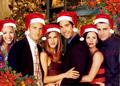 Friends say :Merry Christmas! - friends fan art