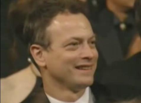 Gary at Oscar won kwa Tom Hanks for Forrest Gump