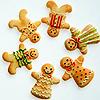 Gingerbread Men - christmas icon
