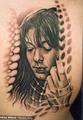 Girl - tattoos photo