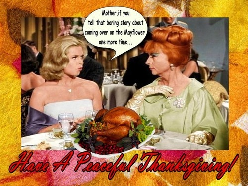 Happy Thanksgiving dag From Samantha & Endora