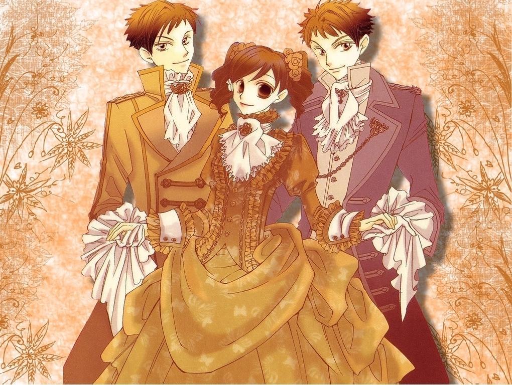 Haruhi, Hikaru and Kaoru
