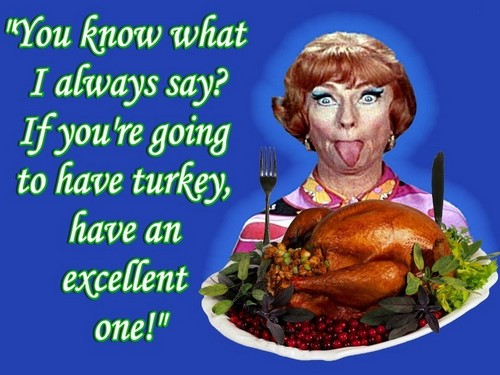 Have A Bewitched Thanksgiving Day From Endora!