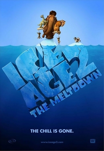 Ice Age wallpaper possibly with a sign and a business district called Ice Age 2: The Meltdown