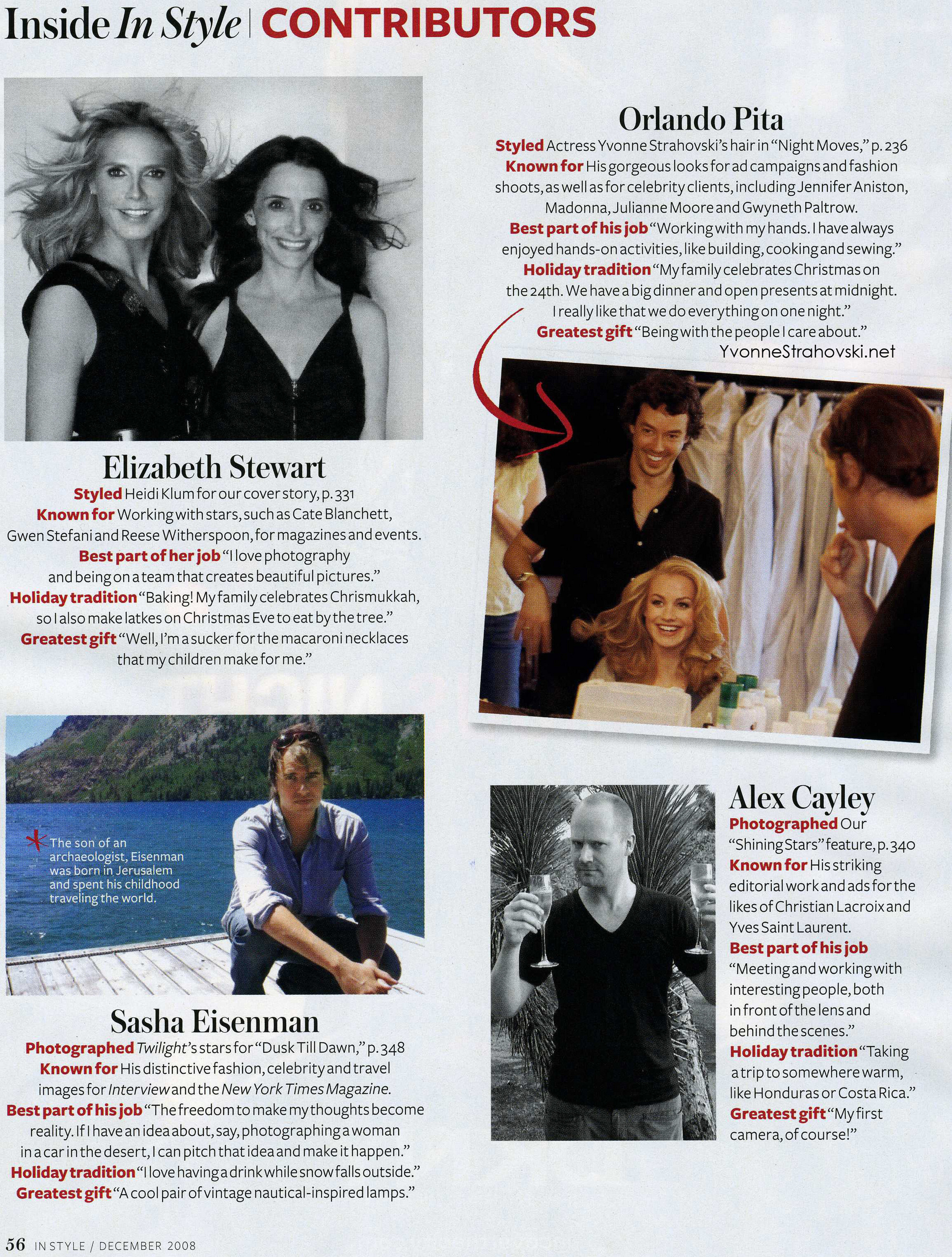 Instyle [December 2008]