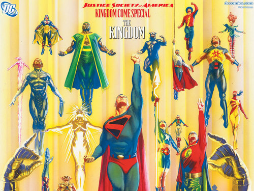 JSA the Kingdom Special