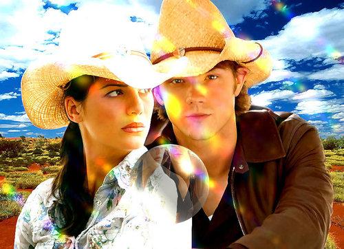 Jared Padalecki and Genevieve Cortese