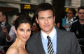Jason Bateman and His Wife at Hancock UK Premiere