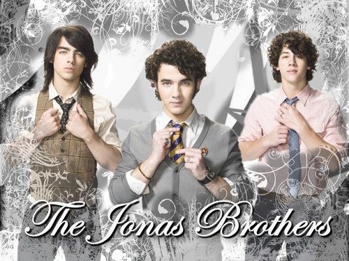 The Jonas Brothers wallpaper with a business suit titled Jonas Brothers