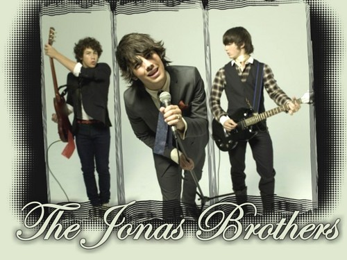 The Jonas Brothers wallpaper probably containing a vacuum and a hoover called Jonas Brothers