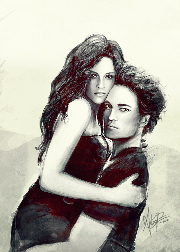 Kristen and Rob Art