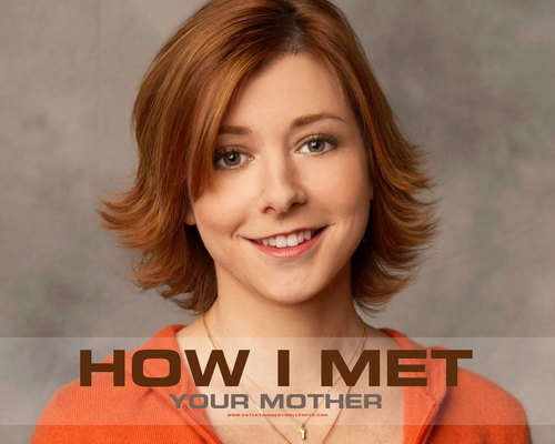 How I Met Your Mother wallpaper with a portrait called Lily