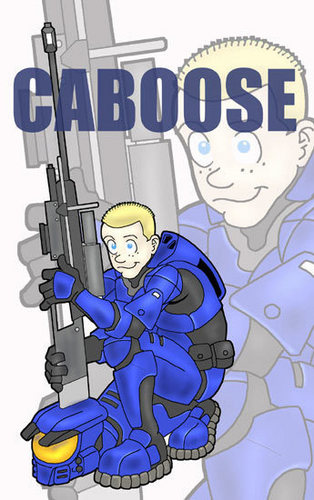 Luke McKay Draws Caboose