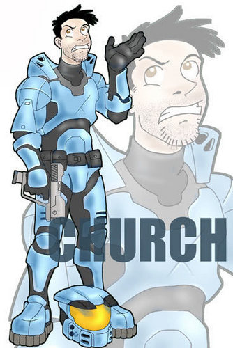 Luke McKay Draws Church
