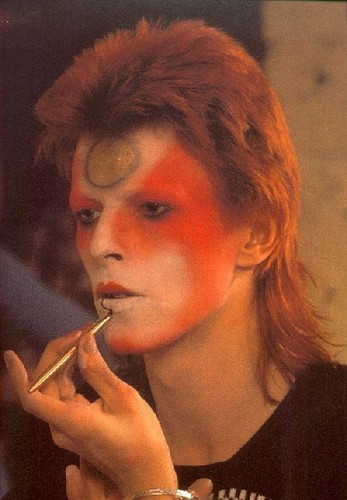 Ziggy Stardust wallpaper entitled Makeup
