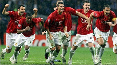 Manchester United Champions League Final