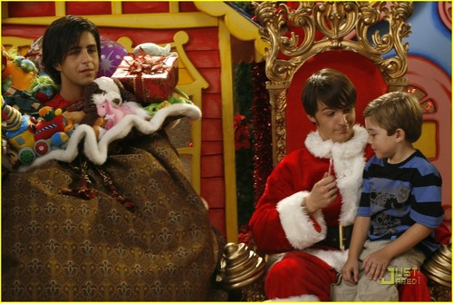 Merry Christmas mannetjeseend, drake & Josh