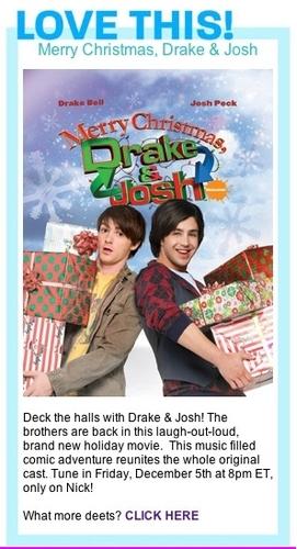 Merry navidad pato, drake & Josh