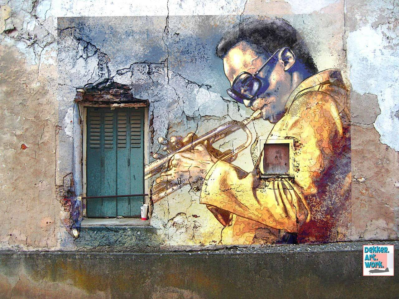 Miles davis images miles hd wallpaper and background for Cool mural wallpaper