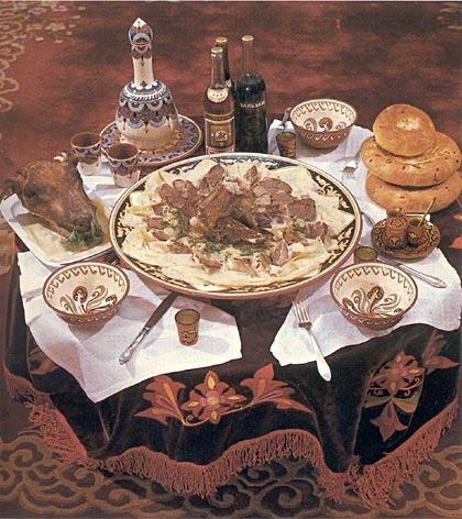 National food;Besbarmak