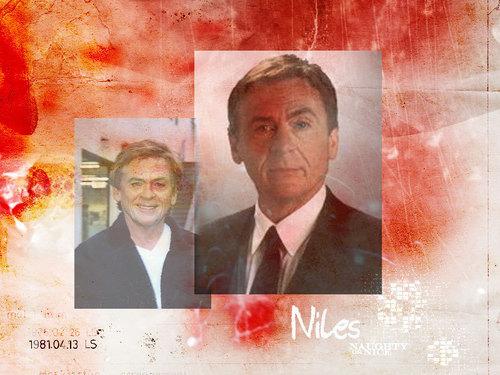 The Nanny wallpaper entitled Niles